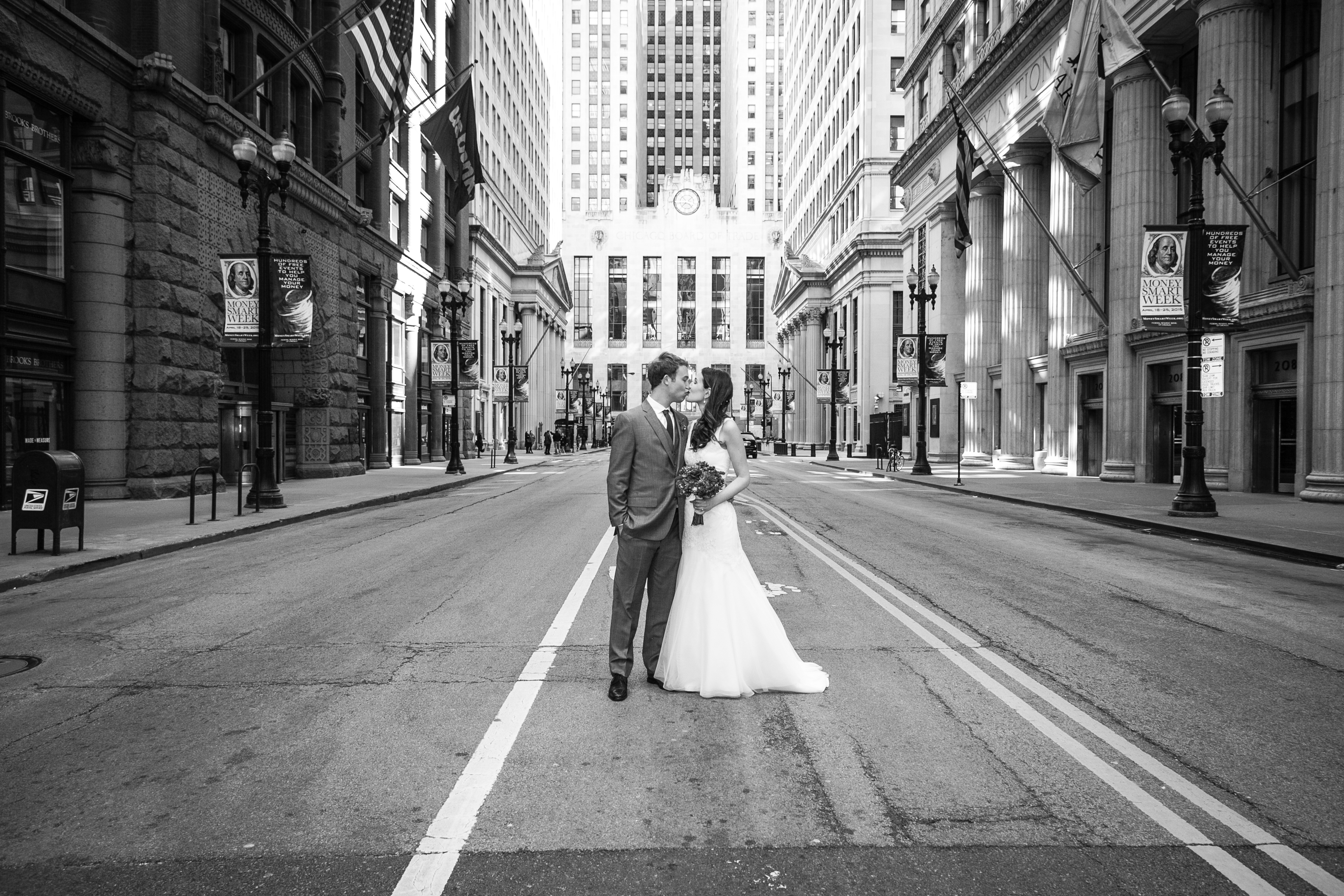 Chicago Financial District Wedding Photography