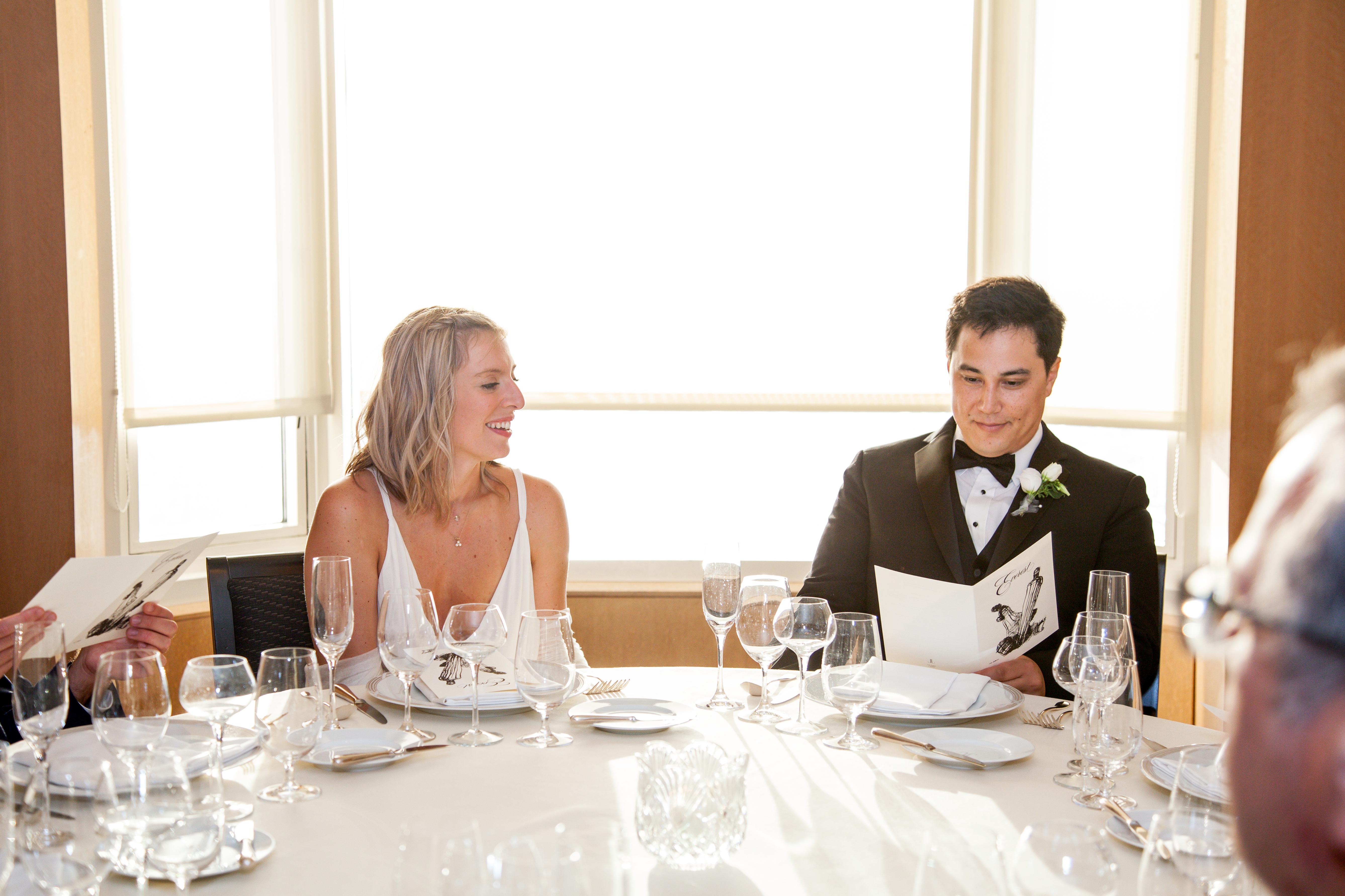 Chicago Everest Restaurant Wedding