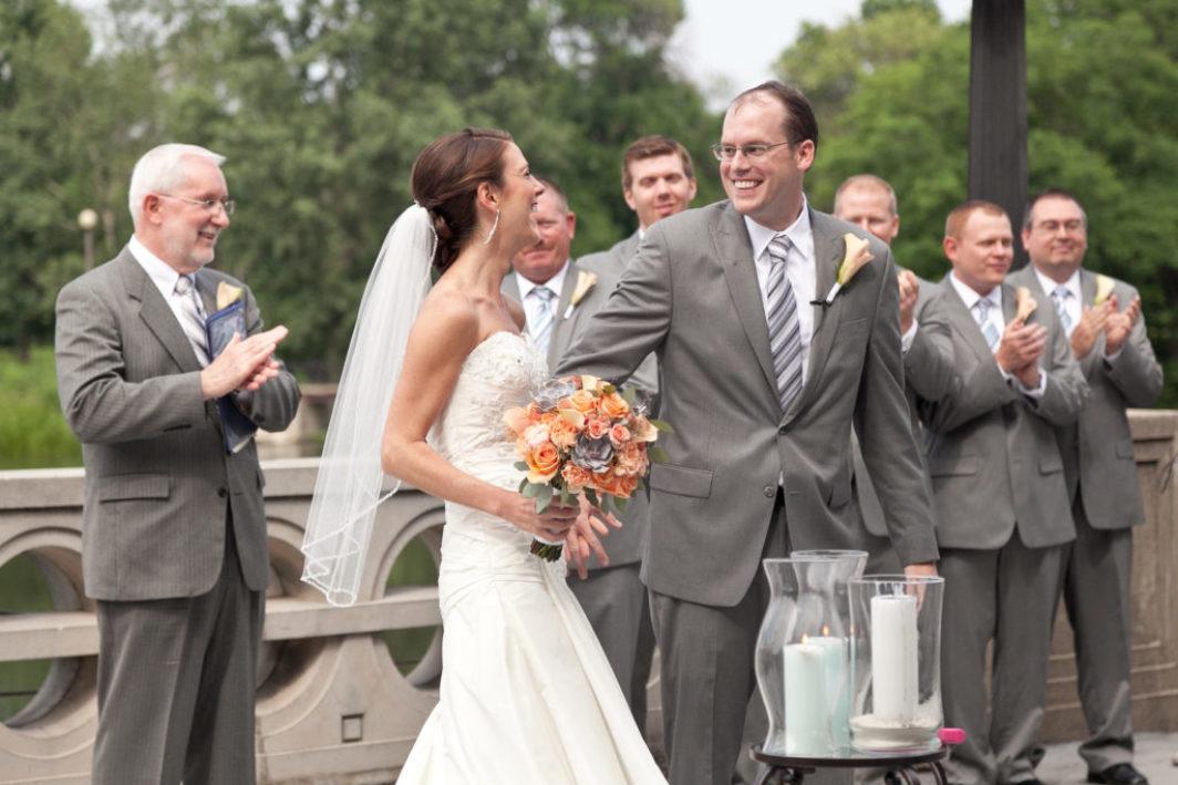 Wedding at the Humboldt Park Boathouse